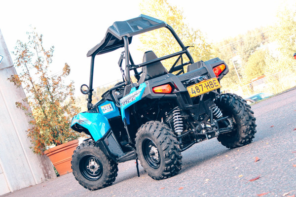 Polaris Sportsman ACE 570 – Traktori vai rallipeli?