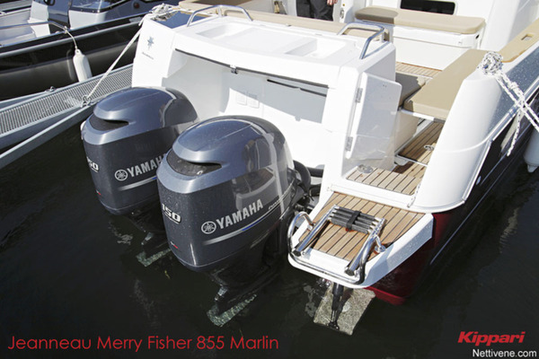Jeanneau Merry Fisher 855 Marlin kuva moottoreista