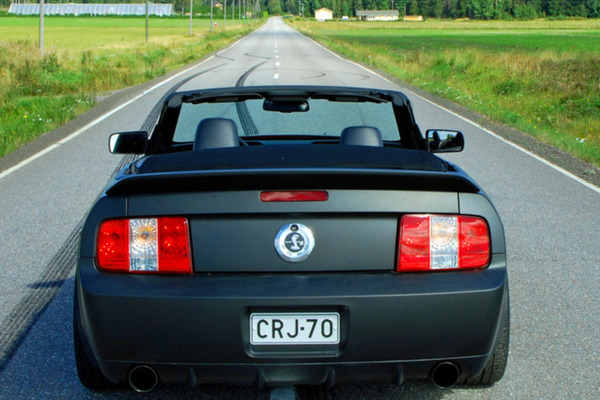 Tyypit: Ford Shelby GT500 convertible