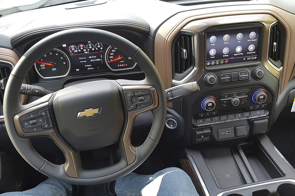 Chevrolet Silverado 1500 High Country 4wd Crew Cab 6.2L EcoTec3 V8